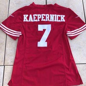 info for 49186 d84a7 Colin Kaepernick Nike jersey womens 49ers vintage